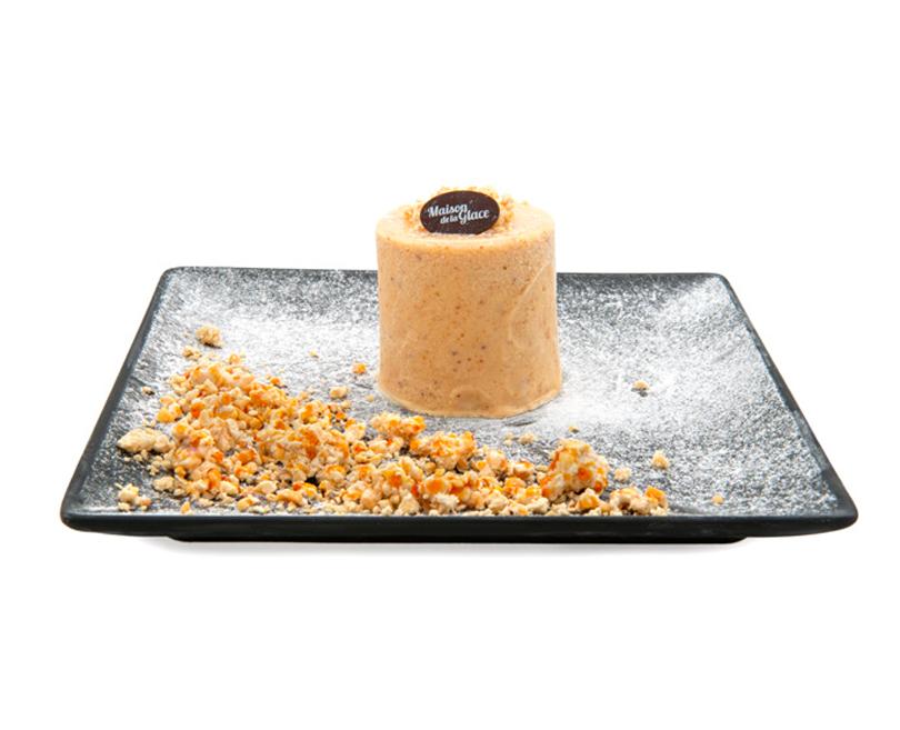 Dessert Nougat glacé Maison de la Glace