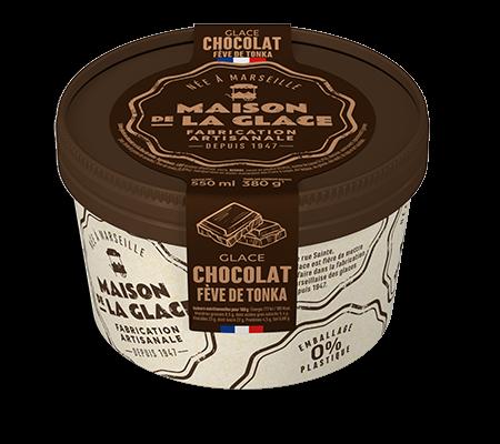 Maison de la glace glace Chocolat