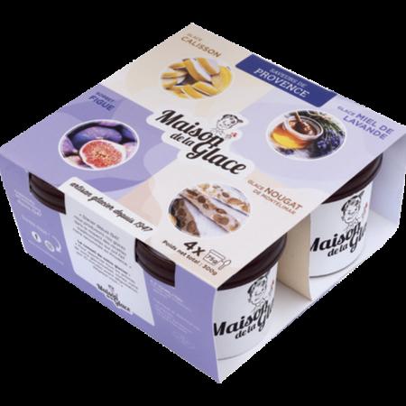 Pack glaces saveurs de Provence Maison de la Glace